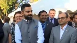 India vs New Zealand: 'Enjoy meeting our own people' - Virat Kohli and Co visit Indian High Commission in Wellington - Watch