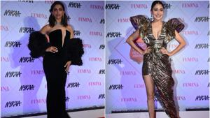 Deepika Padukone stuns in black gown, Anushka Sharma, Ananya Panday shimmer in metallic outfits at Nykaa Femina Beauty Awards 2020