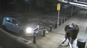 The video of the incident has been shared by South Wales Police Cardiff on Facebook.