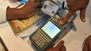 On the proposal to link the electoral list with the 12-digit biometric number, the law secretary is said to have given a favourable opinion and assured the ECI that a cabinet note would soon be prepared to change the two laws - the Representation of People's Act and Aadhaar law.(AFP file photo)