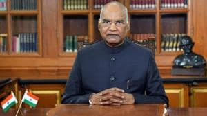 Union human resource development (HRD) ministry has written to President Ram Nath Kovind, seeking his approval for the removal of Manipur University's vice-chancellor(ANI Photo)