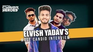 Elvish Yadav on his name, fame & dad's insistence on govt jobs l Cyber Heroes