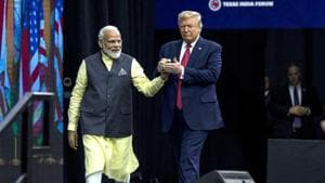 India and the US are discussing at least five MoUs (memoranda of understanding) on issues ranging from trade facilitation to homeland security(Bloomberg via Getty Images)