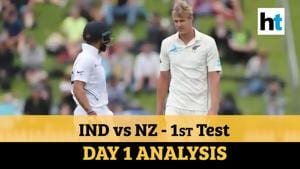 India Vs NZ 1st Test: Virat's men on the backfoot; Jamieson shines on debut