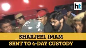 Watch: Sharjeel Imam brought to Guwahati, sent to 4-day police custody
