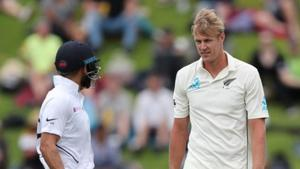 India vs New Zealand 1st Test:Jamieson leaves visitors reeling on Day 1