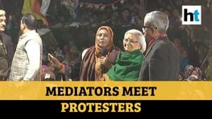 Watch: SC-assigned mediators meet Shaheen Bagh protesters for 3rd time