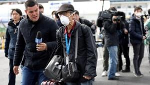 Some experts and former passengers have criticised the quarantine, saying anti-infection measures were inadequate.(REUTERS)