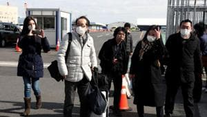 Japan has confirmed more than 750 cases of the new virus, which first emerged in China, including 634 from the Diamond Princess, which docked and was quarantined in Yokohama, near Tokyo.(REUTERS)