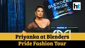 Priyanka Chopra sets the ramp ablaze at Blenders Pride Fashion Tour