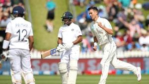 India look down the barrel after another top-order flop show against New Zealand