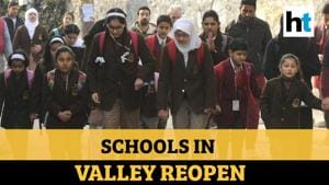 Kashmir: Children return to classes after over 6 months as schools reopen