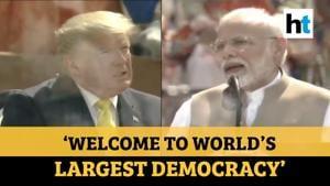 'Namaste Trump' l 'India & US no longer just another partnership': PM Modi