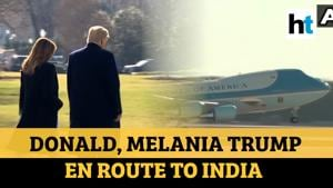 'India's biggest event ever': Donald Trump departs for 'exciting' trip