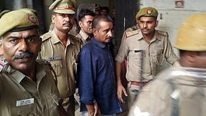 Uttar Pradesh legislator Kuldeep Singh Sengar was been convicted in a rape case and given life sentence by a Delhi court in December 2019.(ANI Photo)