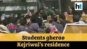 Delhi violence: Students protest outside CM Kejriwal's residence, detained