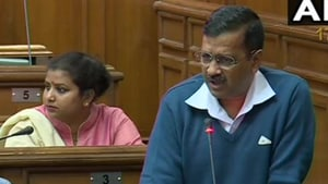 Kejriwal said Delhi will have to stand united against politics of hate that pits brother against brother(ANI / Twitter)