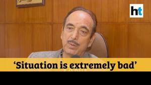 Delhi violence | 'Unfortunate that centre is not paying attention': Ghulam Nabi Azad