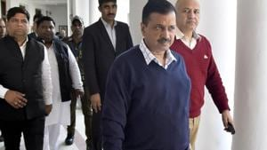 Arvind Kejriwal will go to meet the victims of Delhi communal violence following directions by the Delhi High Court, said ANI(Sonu Mehta/HT PHOTO)