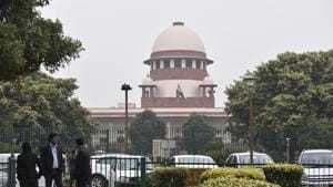 According to the statement, the court rooms of the SC and the judges' residences were being sanitised.(Sonu Mehta/HT PHOTO)