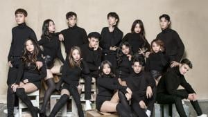 Comprising 14 artistes from seven Asian nations, Z-Stars trained and debuted in South Korea.