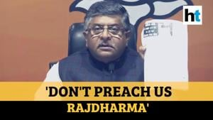 'Don't preach us': BJP hits back at Sonia Gandhi over Congress' rajdharma jibe