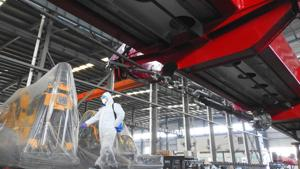 China's factory activity posts record contraction as coronavirus bites