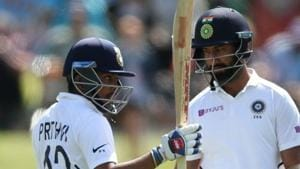 India vs New Zealand: Prithvi Shaw achieves unique feat with half-century in Christchurch