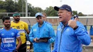 Indian hockey coach Graham Reid.(Frank Uijlenbroek)
