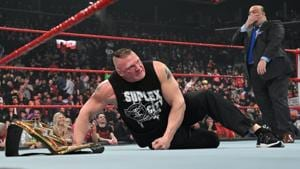 Brock Lesnar and Paul Heyman.(WWE)