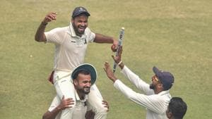 Their last Ranji title came in the 1989-90 season and now, with this current bunch and with this form, this could well be their season.(PTI)