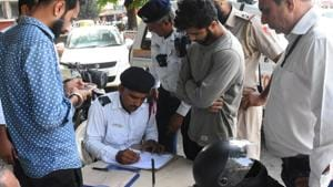 Odisha truck owner was fined Rs 6.72 lakh for traffic violations(HT Photo/Representative)