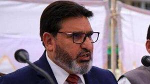 Former PDP leader Altaf Bukhari will launch a new political party in Jammu and Kashmir on Sunday(HT Phoot)