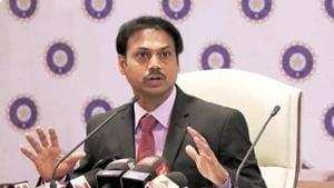 Former India chairman of selectors MSK Prasad.(Twitter)