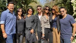 Priyanka Chopra shared a picture of her fun weekend on Twitter.