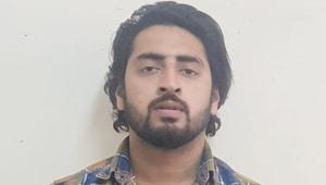 Last Saturday, a court had allowed police three more days' custodial interrogation of Mohammad Shahrukh.(ANI/Twitter)