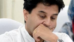 Jyotiraditya Scindia quit the Congress after meeting Prime Minister Narendra Modi along with Union Home Minister Amit Shah.(ANI Photo)
