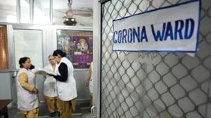 The latest positive case of coronavirus in Karnataka had returned from Greece a few days ago.(Sanchit Khanna/HT PHOTO)