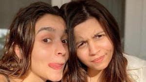 Alia Bhatt celebrated her birthday with sister Shaheen.