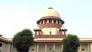 The Supreme Court on Tuesday heard Centre' petition seeking approval for staggered payment for AGR dues by telecom companies.(Sunil Saxena/HT Photo)
