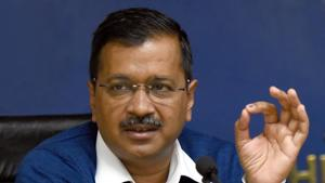 Delhi CM Arvind Kejriwal is likely to suggest shutdown of some Dehi government offices in the wake of the Covid 19 threat.(Sonu Mehta/HT PHOTO)