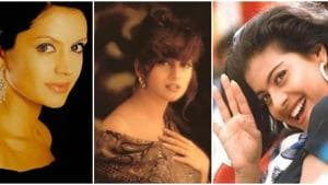 Madhuri Dixit, Kajol and Mandira Bedi shared classic throwback pictures while in self-isolation.
