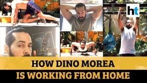 'Books, workout, movies': How Dino Morea is working from home amid lockdown