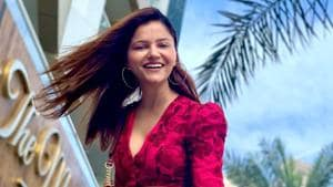Actor Rubina Dilaik is making the most of this forced break