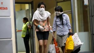 A death toll increase from the coronavirus pandemic is expected in the central Argentine province of Cordoba(Reuters image)