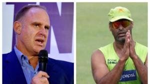 File image of Matthew Hayden and Shoaib Akhtar.(File)