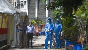 The authorities are now trying to find those people who came in contact with the two relatives of the Tablighi Jamaat's leader.(Amal KS/HT file photo. Representative image)