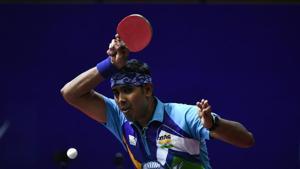 File image of Sharath Kamal.(Getty Images)