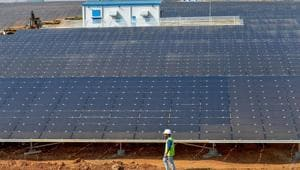 The Centre is separately planning to utilise vacant land belonging to the railways to set up solar power plants of 30 gigawatts (GW) capacity.(PTI File / Photo used for representational purpose only)