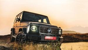 The G-class isn't for the chauffeur-driven